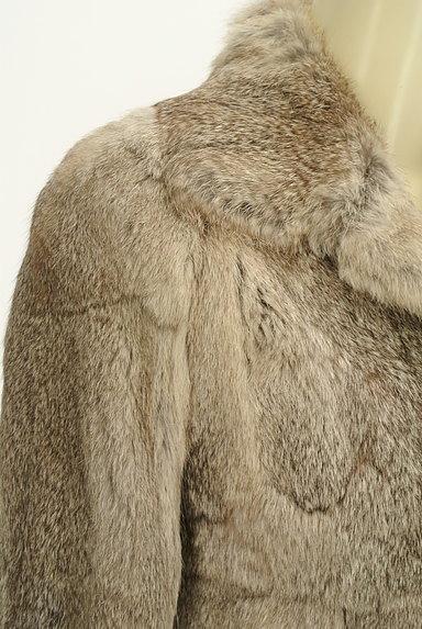 UNTITLED(アンタイトル)の古着「ラビットファーショートコート(ジャケット)」大画像4へ