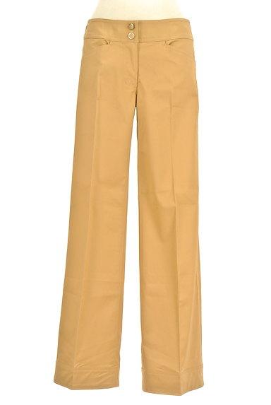 NARA CAMICIE(ナラカミーチェ)の古着「センタープレスセミワイドパンツ(パンツ)」大画像1へ