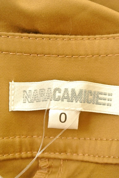 NARA CAMICIE(ナラカミーチェ)の古着「センタープレスセミワイドパンツ(パンツ)」大画像6へ
