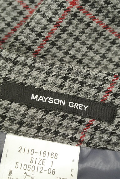 MAYSON GREY(メイソングレイ)の古着「千鳥格子柄ウールショートパンツ(ショートパンツ・ハーフパンツ)」大画像6へ