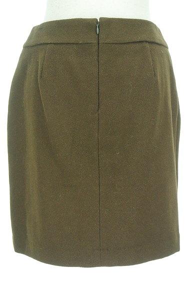 QUEENS COURT(クイーンズコート)の古着「リボンウエストセミタイトミニスカート(ミニスカート)」大画像2へ