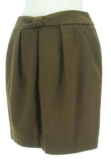QUEENS COURT(クイーンズコート)の古着「リボンウエストセミタイトミニスカート(ミニスカート)」大画像3へ