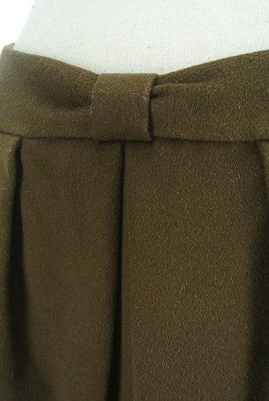 QUEENS COURT(クイーンズコート)の古着「リボンウエストセミタイトミニスカート(ミニスカート)」大画像4へ
