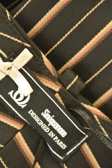 Sinequanone(シネカノン)の古着「ストライプ柄フレアキュロット(ショートパンツ・ハーフパンツ)」大画像6へ