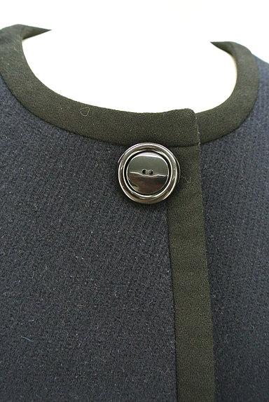 ROPE(ロペ)の古着「ノーカラー比翼ロングコート(コート)」大画像4へ