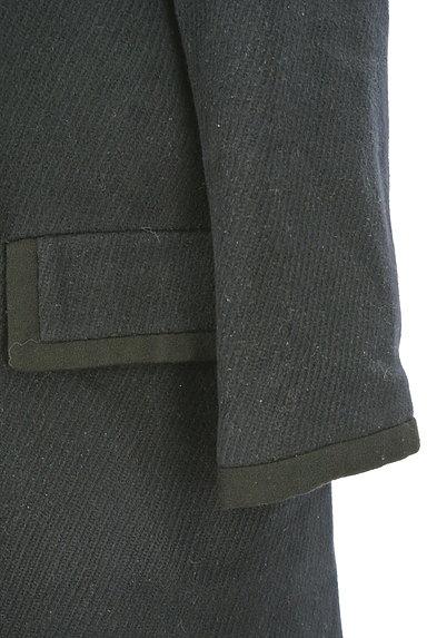 ROPE(ロペ)の古着「ノーカラー比翼ロングコート(コート)」大画像5へ