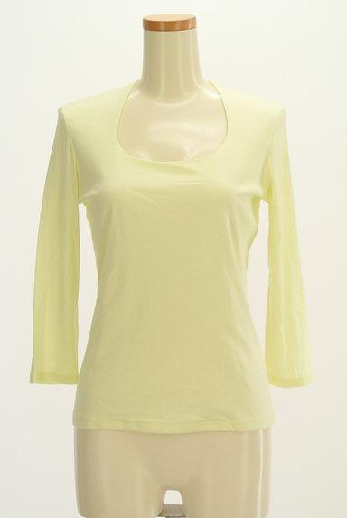 COUP DE CHANCE(クードシャンス)の古着「七分袖シンプルTシャツ(Tシャツ)」大画像1へ