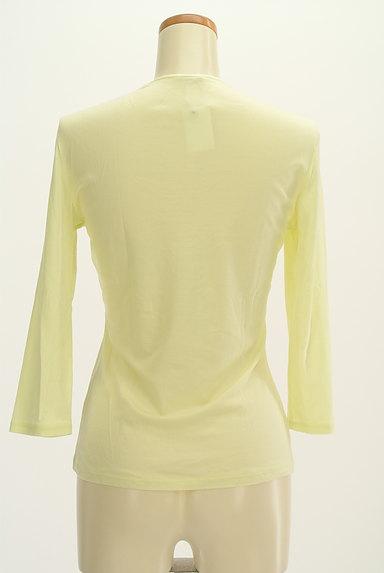 COUP DE CHANCE(クードシャンス)の古着「七分袖シンプルTシャツ(Tシャツ)」大画像2へ