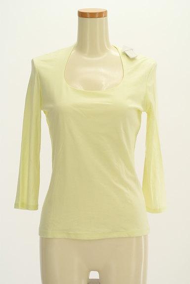COUP DE CHANCE(クードシャンス)の古着「七分袖シンプルTシャツ(Tシャツ)」大画像4へ