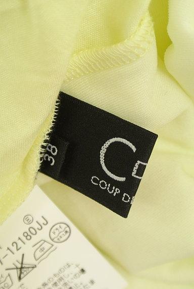 COUP DE CHANCE(クードシャンス)の古着「七分袖シンプルTシャツ(Tシャツ)」大画像6へ