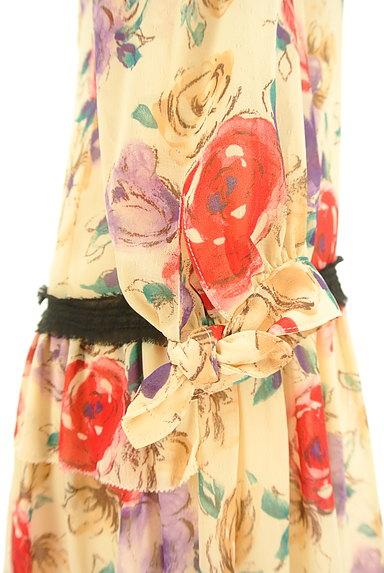 JILLSTUART(ジルスチュアート)の古着「花柄シフォンワンピース(ワンピース・チュニック)」大画像4へ