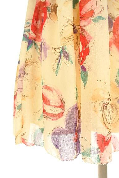 JILLSTUART(ジルスチュアート)の古着「花柄シフォンワンピース(ワンピース・チュニック)」大画像5へ