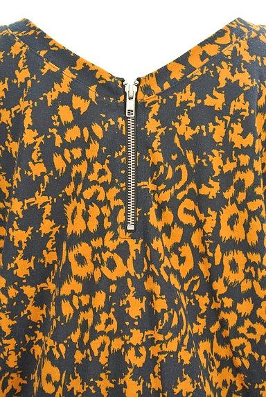 OSMOSIS(オズモーシス)の古着「総柄7分袖コクーンワンピ(ワンピース・チュニック)」大画像5へ