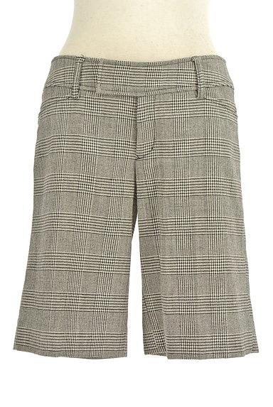 LE SOUK(ルスーク)の古着「チェック柄ウールハーフパンツ(ショートパンツ・ハーフパンツ)」大画像1へ