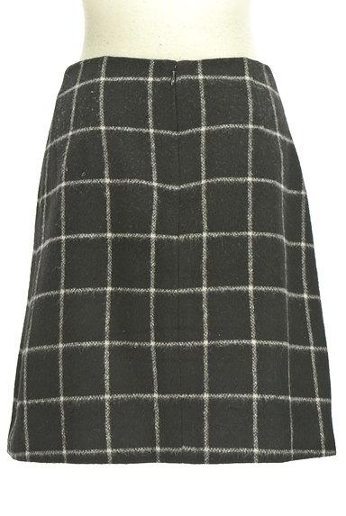 ROPE(ロペ)の古着「グラフチェック柄台形スカート(ミニスカート)」大画像2へ
