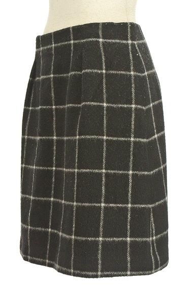 ROPE(ロペ)の古着「グラフチェック柄台形スカート(ミニスカート)」大画像3へ