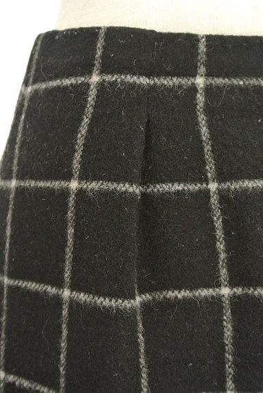 ROPE(ロペ)の古着「グラフチェック柄台形スカート(ミニスカート)」大画像4へ