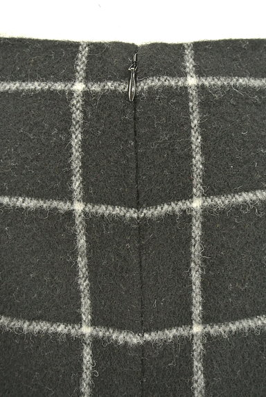 ROPE(ロペ)の古着「グラフチェック柄台形スカート(ミニスカート)」大画像5へ