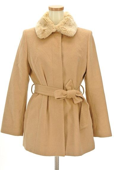 7-ID concept(セブンアイディーコンセプト)の古着「襟ファーミドル丈ウールコート(コート)」大画像1へ