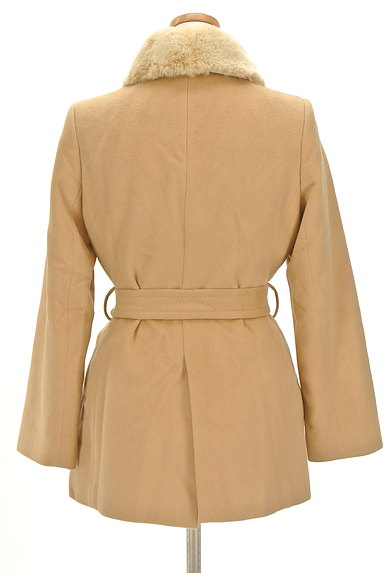 7-ID concept(セブンアイディーコンセプト)の古着「襟ファーミドル丈ウールコート(コート)」大画像2へ