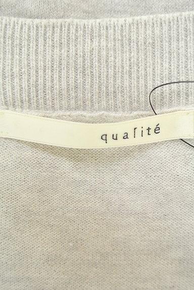 qualite(カリテ)レディース ニット PR10229214大画像6へ