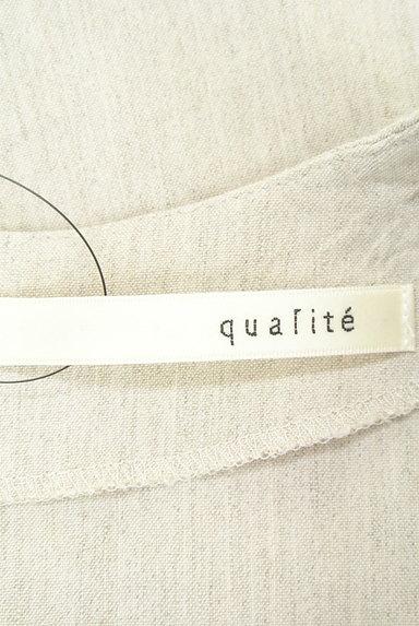 qualite(カリテ)の古着「(カットソー・プルオーバー)」大画像6へ