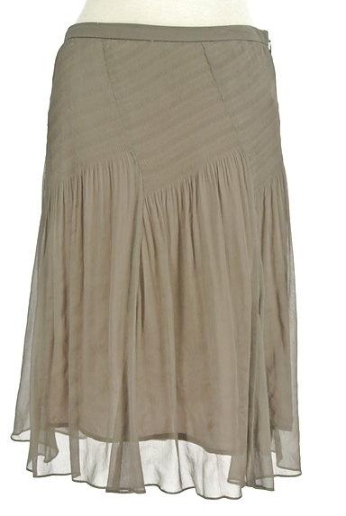 SunaUna(スーナウーナ)の古着「セミフレアギャザースカート(スカート)」大画像1へ