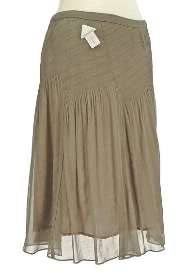 SunaUna(スーナウーナ)の古着「セミフレアギャザースカート(スカート)」大画像4へ