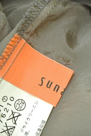 SunaUna(スーナウーナ)の古着「セミフレアギャザースカート(スカート)」大画像6へ