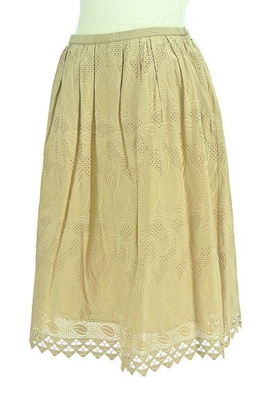 23区(23ク)の古着「スカラップ総刺繍スカート(スカート)」大画像3へ