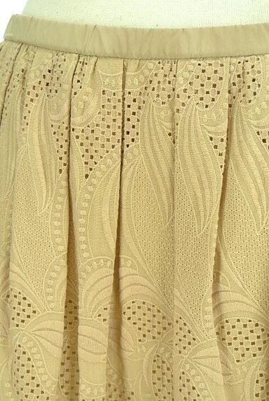 23区(23ク)の古着「スカラップ総刺繍スカート(スカート)」大画像4へ