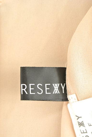 RESEXXY(リゼクシー)の古着「7分袖シフォンライダースジャケット(ブルゾン・スタジャン)」大画像6へ