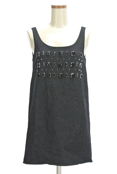 RESEXXY(リゼクシー)の古着「ビジューミニキャミワンピ(キャミワンピース)」大画像1へ