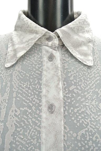ITALIYA(伊太利屋)の古着「シアージャガードブラウス(ブラウス)」大画像4へ