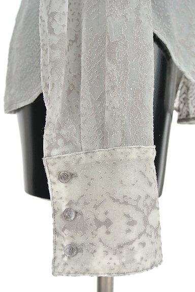 ITALIYA(伊太利屋)の古着「シアージャガードブラウス(ブラウス)」大画像5へ
