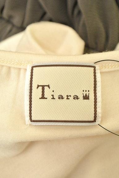 Tiara(ティアラ)の古着「レース&チュール切替ワンピース(ワンピース・チュニック)」大画像6へ