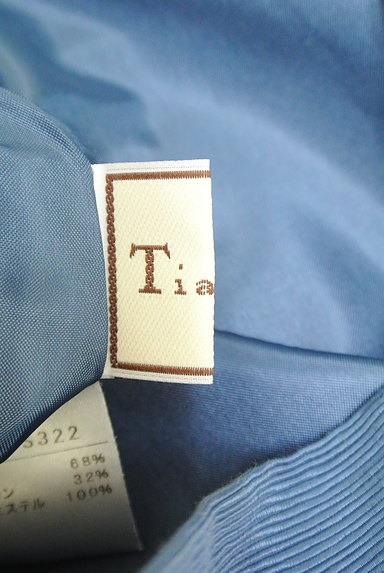 Tiara(ティアラ)の古着「ハイウエストタックフレアスカート(スカート)」大画像6へ