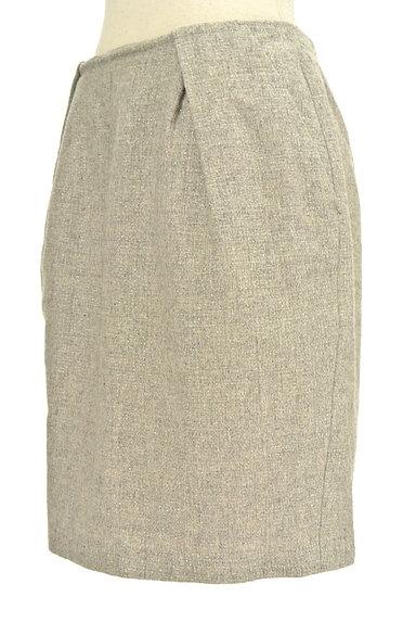 NATURAL BEAUTY BASIC(ナチュラルビューティベーシック)の古着「ラメツイードタックスカート(ミニスカート)」大画像3へ