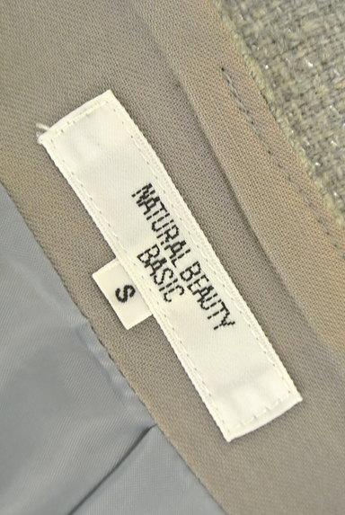 NATURAL BEAUTY BASIC(ナチュラルビューティベーシック)の古着「ラメツイードタックスカート(ミニスカート)」大画像6へ