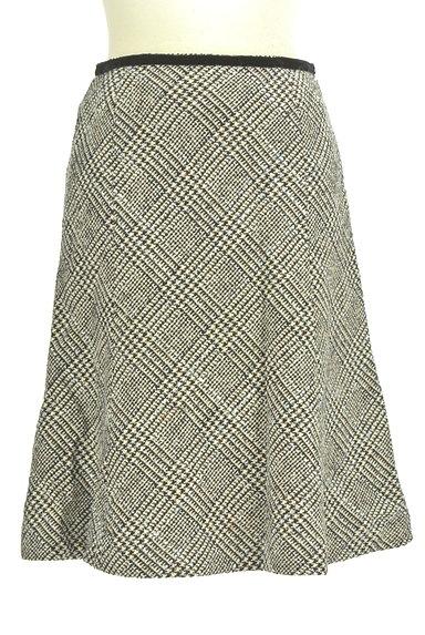 KarL Park Lane(カールパークレーン)の古着「千鳥柄セミマーメードスカート(スカート)」大画像1へ