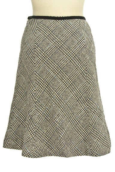 KarL Park Lane(カールパークレーン)の古着「千鳥柄セミマーメードスカート(スカート)」大画像2へ