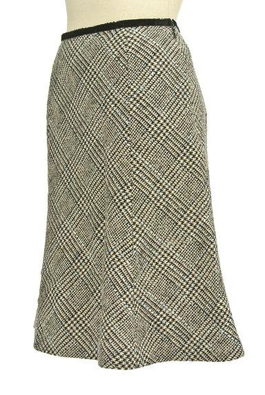 KarL Park Lane(カールパークレーン)の古着「千鳥柄セミマーメードスカート(スカート)」大画像3へ