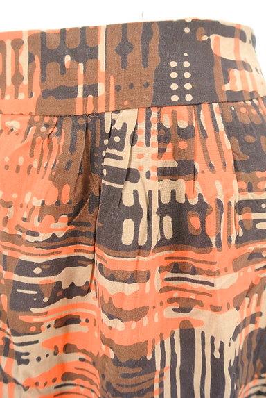 LOUNIE(ルーニィ)の古着「総柄タイトミニスカート(ミニスカート)」大画像4へ