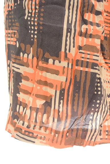 LOUNIE(ルーニィ)の古着「総柄タイトミニスカート(ミニスカート)」大画像5へ