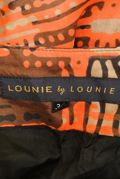 LOUNIE(ルーニィ)の古着「総柄タイトミニスカート(ミニスカート)」大画像6へ