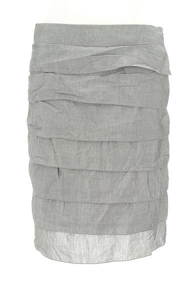 LOUNIE(ルーニィ)の古着「ティアードフリルタイトスカート(スカート)」大画像1へ