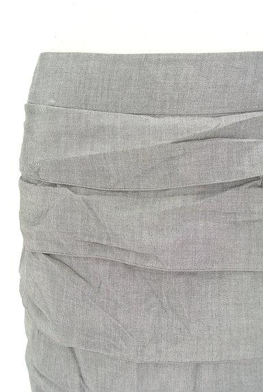 LOUNIE(ルーニィ)の古着「ティアードフリルタイトスカート(スカート)」大画像4へ