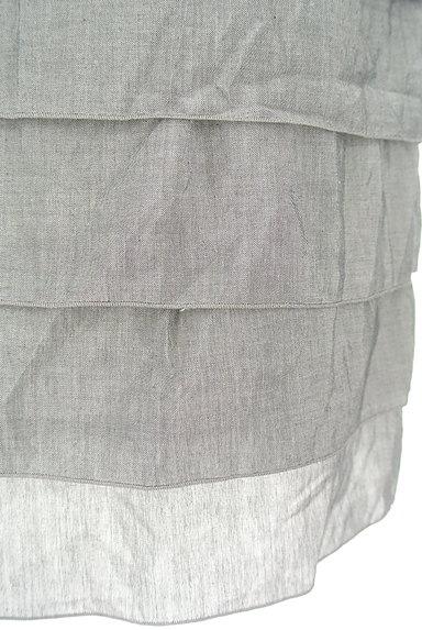 LOUNIE(ルーニィ)の古着「ティアードフリルタイトスカート(スカート)」大画像5へ
