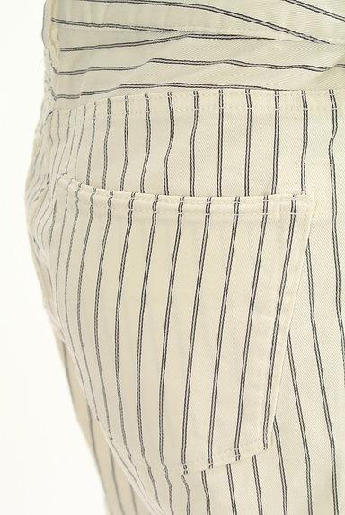 PLST(プラステ)の古着「白ストライプスキニーパンツ(パンツ)」大画像5へ