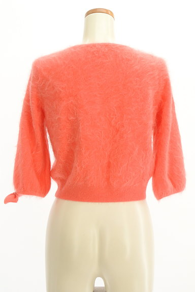 Lois CRAYON(ロイスクレヨン)の古着「リボン付き7分袖カーディガン(カーディガン・ボレロ)」大画像2へ